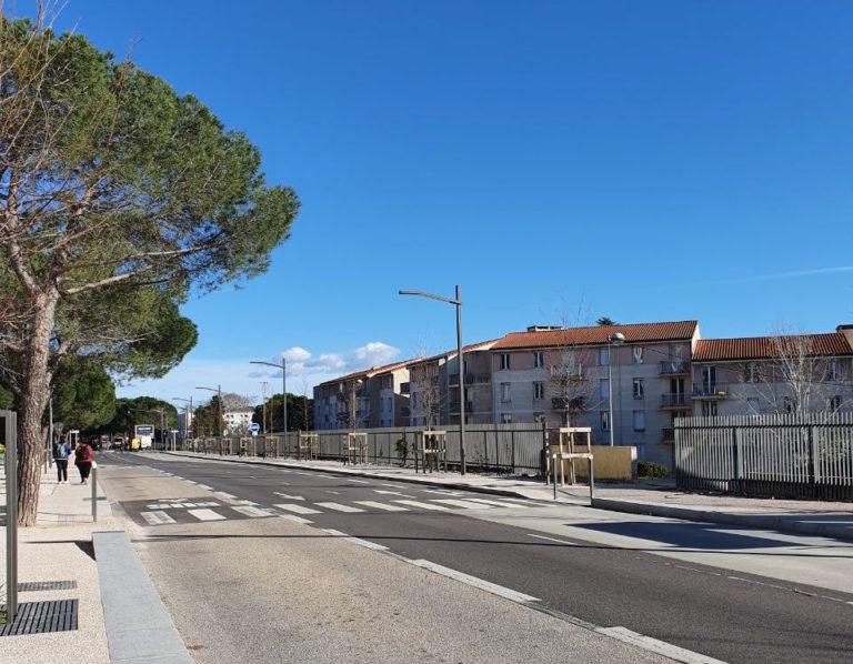 photo des rues de Aix-en-Province ensoleillée