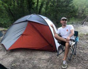 Antoine camping année de césure