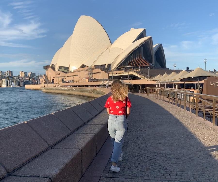 marie année de césure australie